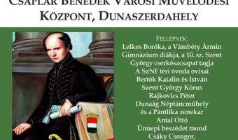 Magyar Kultúra Napja kedden városunkban