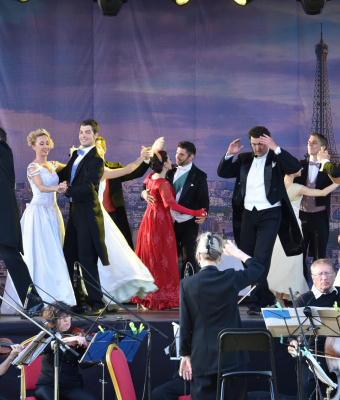 Az operetté volt a főszerep
