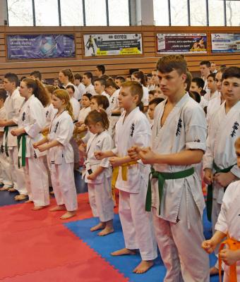 Nemzetközi karateverseny Dunaszerdahelyen