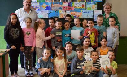 Író-olvasó találkozó az alapiskolában