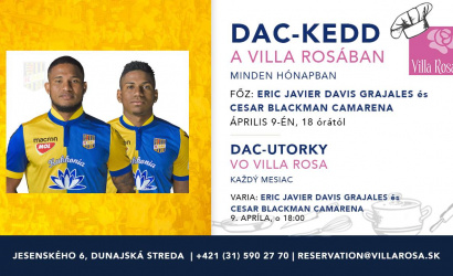 A második DAC-kedd a Villa Rosában!