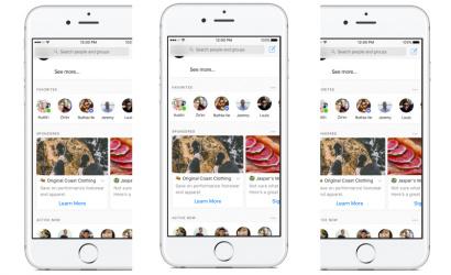 Az egymásnak küldött üzenetek közé is reklámok kerülhetnek a Facebook Messengerben