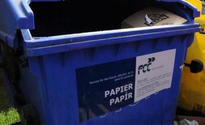 Július 1-től a papírhulladékot is elszállítják
