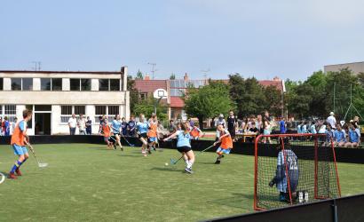 Somorja az első Vámbéry floorball torna győztese