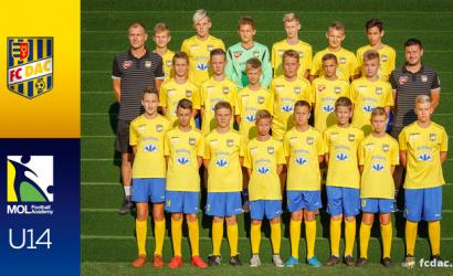 2018/19-es szezon: DAC U14