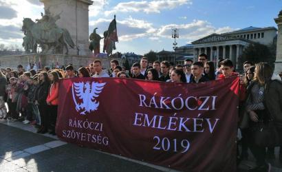 Rákóczi-emlékév dunaszerdahelyi részvétellel a magyar fővárosban