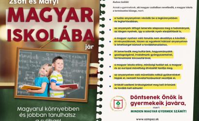 Válasszuk az anyanyelvi oktatást!