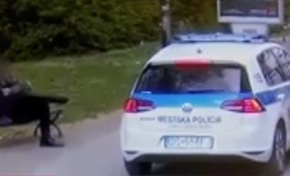 A városi rendőrök fogták el a szökevényt!