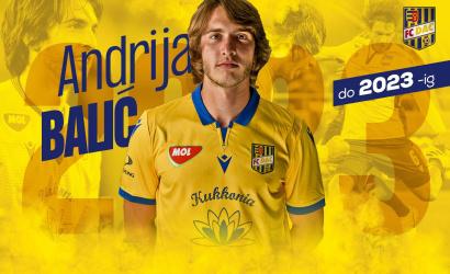 Andrija Balić 2023 nyaráig írt alá