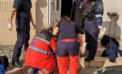 Életet mentettek a városi rendőrök