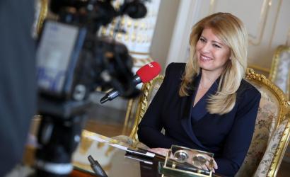 Čaputová lemondta az összes programját, házi karanténba vonul
