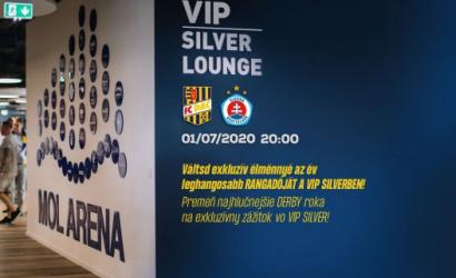 VIP Silver menü a DAC-Slovan rangadóra