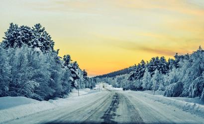 Jeges-havas útszakaszok nehezíthetik a közlekedést