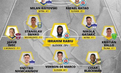 A DAC hátvédje a Fortuna liga 22. fordulójának legjobb csapatában
