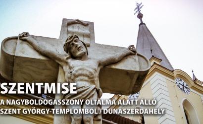 Vasárnap itt követhetik élőben a szentmisét!
