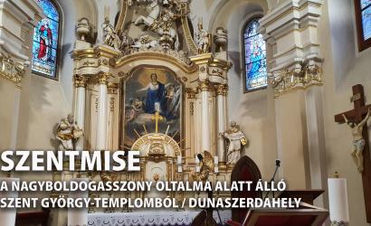 Vasárnap ismét miseközvetítés lesz a katolikus templomból
