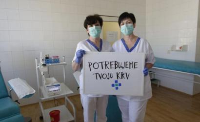 Dunaszerdahelyen is véradásra buzdít a kórház
