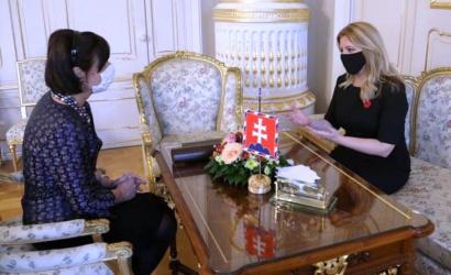 Čaputová fogadta a doktornőt, aki visszaadta az állami kitüntetését