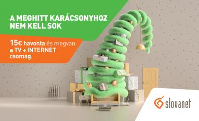 A Slovanet távközlési szolgáltató hozzájárul az Ön szép karácsonyához
