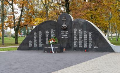 A világháborúk hőseire emlékeztünk