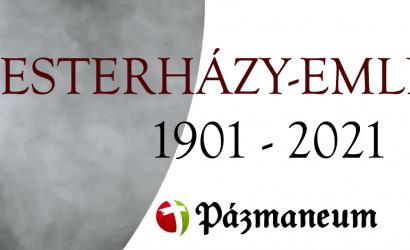 2021-re Esterházy-emlékévet hirdet a Pázmaneum Társulás