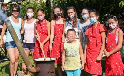 Idén maszkban főztek