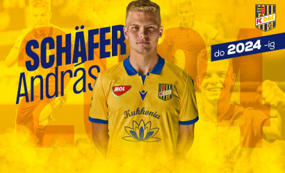 """Schäfer András 2024-ig a DAC játékosa! """"Remélem, hogy közösen elérjük a céljainkat."""""""