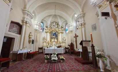 Online szentmise húsvét 3. vasárnapján