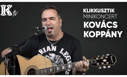 Akusztikus minikoncert Kovács Koppánnyal