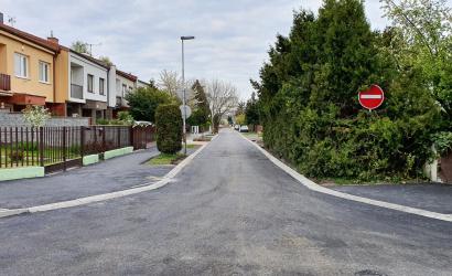 Befejeződött a Mikszáth utca felújítása