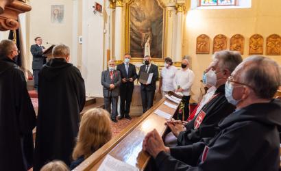 Nagy Frigyes korábbi alpolgármester kapta a Szent György-díjat