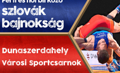 Férfi és női szlovák birkózó bajnokságot rendeznek Dunaszerdahelyen