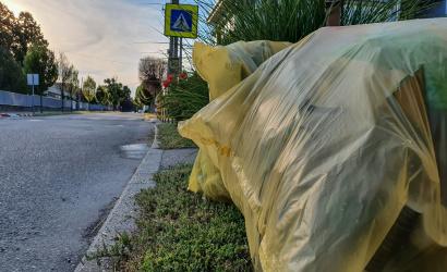 Augusztusban is elszállítják az osztályozott hulladékot