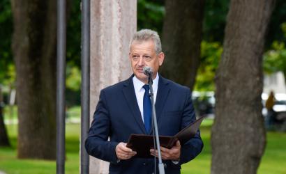 """Hájos Zoltán polgármester: """"Nekünk is tudnunk kell, mi számunkra a helyes döntés, mi számunkra, felvidéki magyarok számára a helyes út"""""""