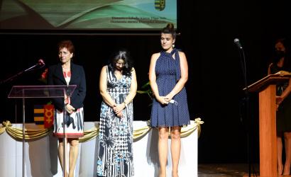 Blanka Gašparíková kapta az Év pedagógusa díj közönségdíját