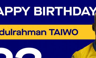 Boldog szülinapot, Taiwo!
