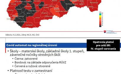 15 járás, köztük Dunaszerdahely és Galánta kapott fekete besorolást