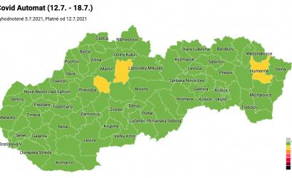 Zöldbe borult Szlovákia