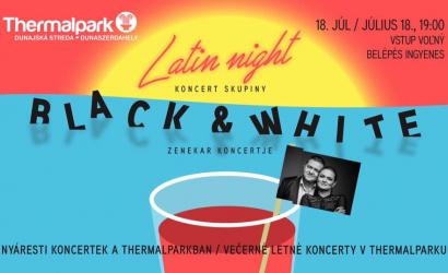 Latin éjszaka a Thermálparkban