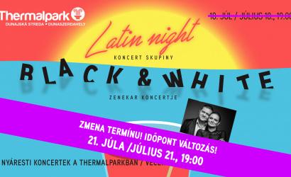 Új időpontban! – Latin éjszaka a Thermálparkban