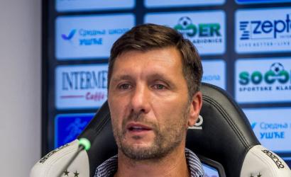 Sajtótájékoztató a Partizan-DAC (1:0) mérkőzés után