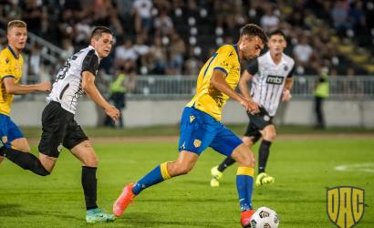 DAC-Partizan: svájci játékvezetők