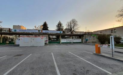 Pandémiás tervvel és beoltott alkalmazottakkal készülnek a delta támadására a dunaszerdahelyi kórházban