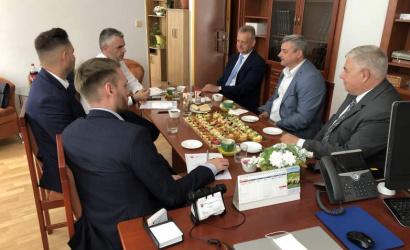 Dunaszerdahely és Nagyszombat megye fejlesztéséről egyeztettek a közlekedési államtitkárral