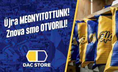 Újra nyitva a DAC store!