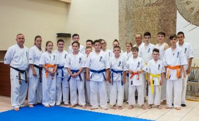 Kétnapos övvizsgát tartott a Seishin Karate Klub