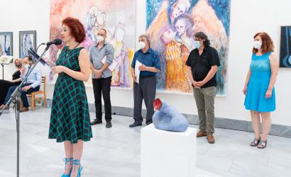 A Képzőművészeti Spektrum díjazottjait köszöntötték