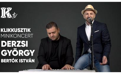 Akusztikus minikoncert Derzsi Györggyel és Bertók Istvánnal