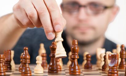 Dobogós helyen a nemzetközi nagymesteri sakkversenyen