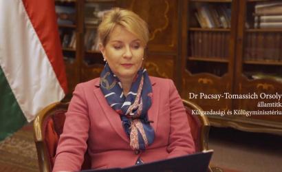 """Dr. Pacsay-Tomassich Orsolya: """"Aki hazáját tetterősen szereti, teljesíti kötelességét a földön"""""""